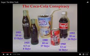 Still from video 'Sugar, The Bitter Truth' Robert Lustig